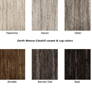 Catskill natural wool carpet colors