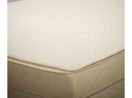 Organic Cotton Quilted Mattress Pad (flat)