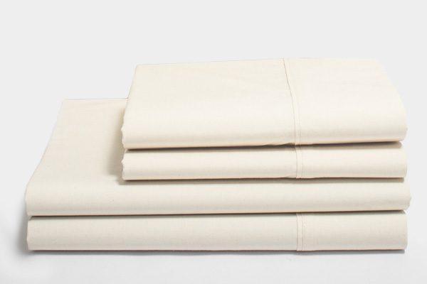 Organic sateen sheets