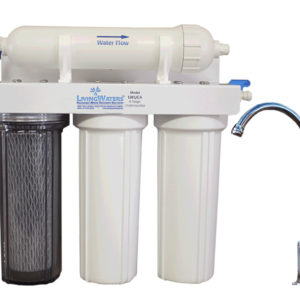 6-stage undercounter LivingWaters filter