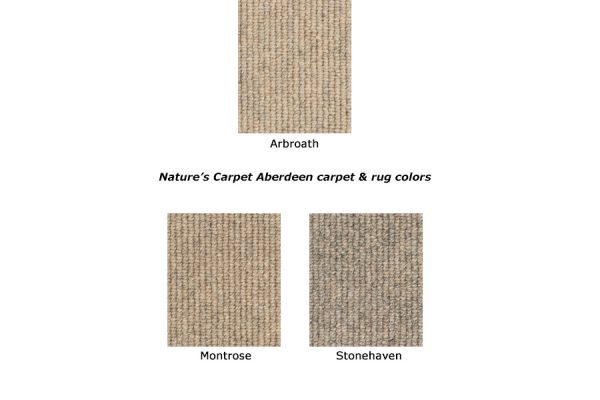 Aberdeen natural wool carpet