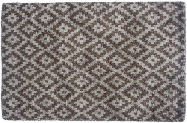 Carlisle loom hooked wool rug