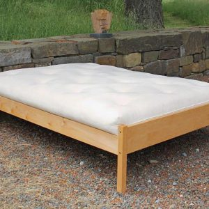 Organic Cotton Latex Wool Futon