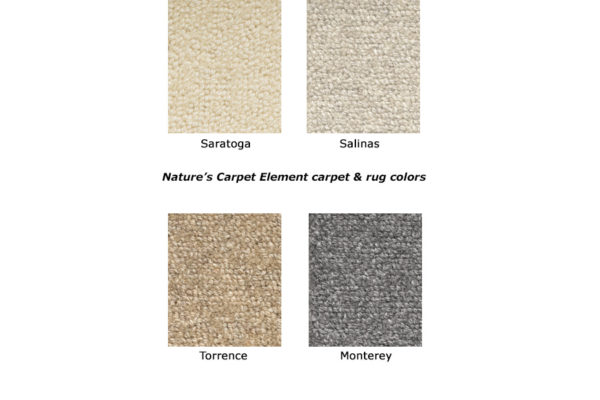 Element natural wool carpet