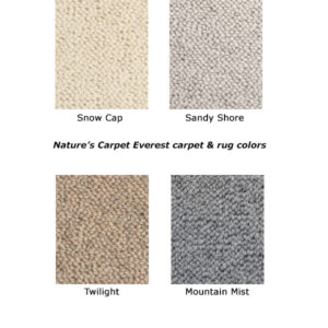 Everest natural wool carpet
