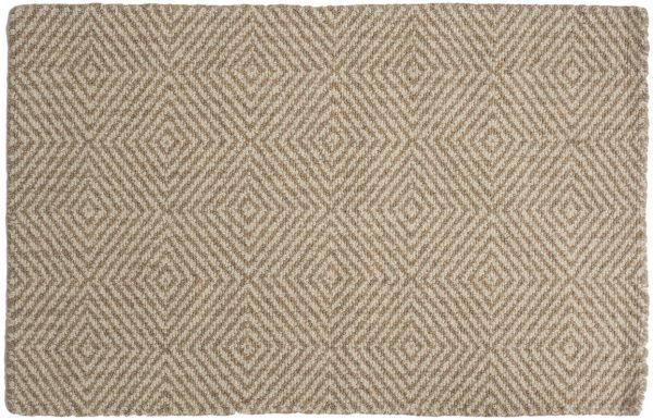 Kensington loom-hooked wool rug