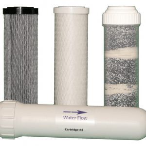 LivingWaters 6-stage replacement filter set for well water