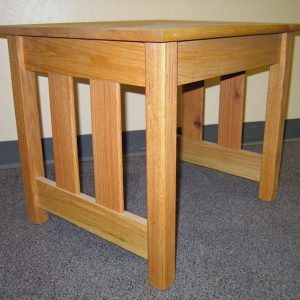 Rolling Prairie Side Table