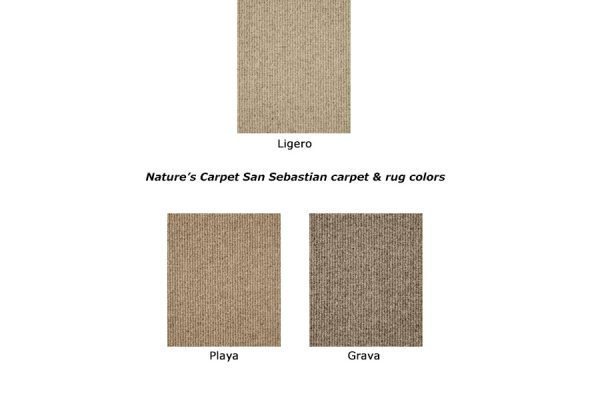 San Sebastian natural wool carpet