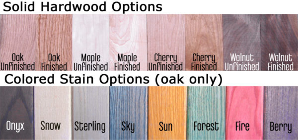 Dapwood color and wood selection