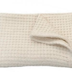 Large waffle weave blanket