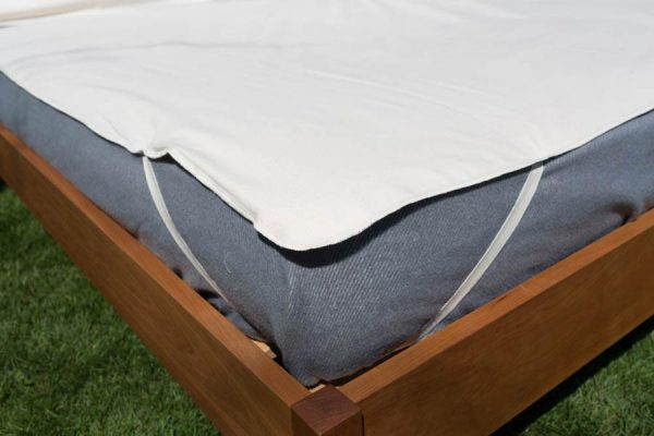 Organic Cotton Flannel Mattress Protector