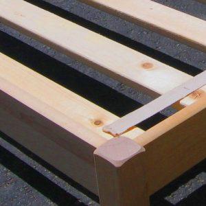 Dapwood bed slats