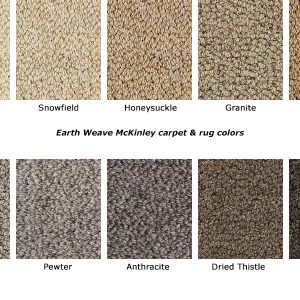 McKinley natural wool carpet colors