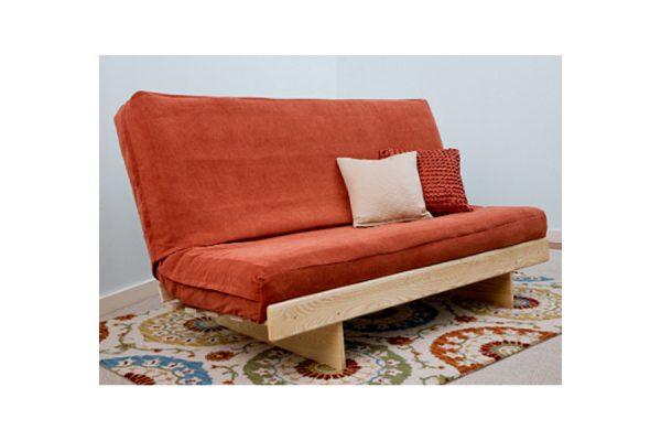Ash L futon frame