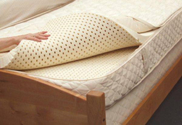 Multilayer latex mattress