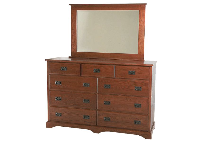 9-drawer Somerset Dresser. Bedworks Of Maine. Non-toxic