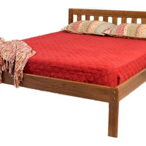 Danforth bed low headboard