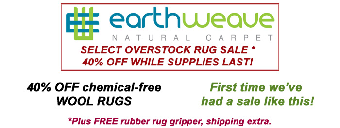 Earth Weave rug sale