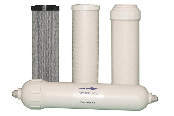LivingWaters 6-stage replacement filter set for municipal water
